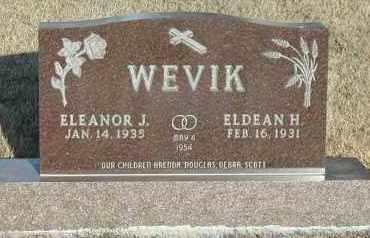 WEVIK, ELEANOR J - Union County, South Dakota | ELEANOR J WEVIK - South Dakota Gravestone Photos
