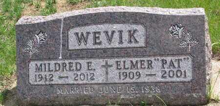 "WEVIK, ELMER ""PAT"" - Union County, South Dakota | ELMER ""PAT"" WEVIK - South Dakota Gravestone Photos"