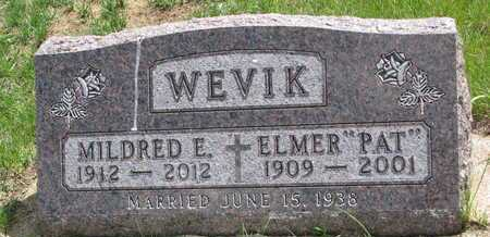 WEVIK, MILDRED E - Union County, South Dakota | MILDRED E WEVIK - South Dakota Gravestone Photos