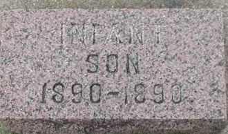 WIBERG, INFANT SON - Union County, South Dakota | INFANT SON WIBERG - South Dakota Gravestone Photos