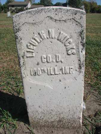 WICKS, HORATION N. (MILITARY) - Union County, South Dakota | HORATION N. (MILITARY) WICKS - South Dakota Gravestone Photos