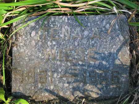 WIESE, TENA A. - Union County, South Dakota   TENA A. WIESE - South Dakota Gravestone Photos