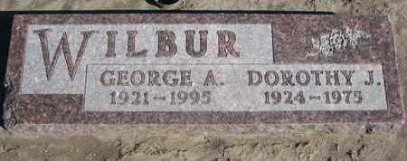 WILBUR, GEORGE A. - Union County, South Dakota | GEORGE A. WILBUR - South Dakota Gravestone Photos