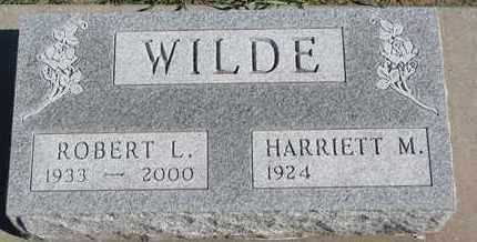 WILDE, HARRIETT M. - Union County, South Dakota | HARRIETT M. WILDE - South Dakota Gravestone Photos