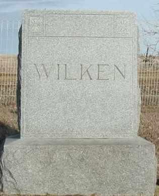WILKEN, PLOT - Union County, South Dakota   PLOT WILKEN - South Dakota Gravestone Photos