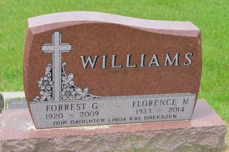 WILLIAMS, FORREST G. - Union County, South Dakota   FORREST G. WILLIAMS - South Dakota Gravestone Photos