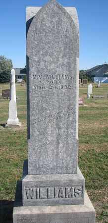 WILLIAMS, M.M. - Union County, South Dakota   M.M. WILLIAMS - South Dakota Gravestone Photos