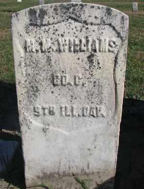 WILLIAMS, M.M. (CIVIL WAR) - Union County, South Dakota | M.M. (CIVIL WAR) WILLIAMS - South Dakota Gravestone Photos