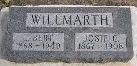 WILLMARTH, JOSIE C. - Union County, South Dakota   JOSIE C. WILLMARTH - South Dakota Gravestone Photos
