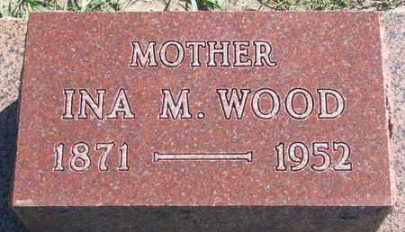 WOOD, INA M. - Union County, South Dakota | INA M. WOOD - South Dakota Gravestone Photos