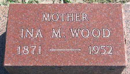 WOOD, INA M. - Union County, South Dakota | INA M. WOOD - South Dakota Gravestone Photos