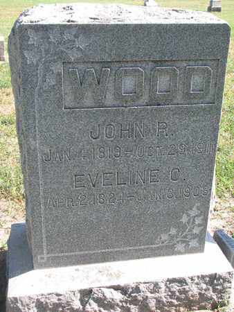 WOOD, EVELINE C. - Union County, South Dakota | EVELINE C. WOOD - South Dakota Gravestone Photos
