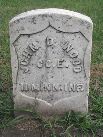 WOOD, JOHN D. - Union County, South Dakota | JOHN D. WOOD - South Dakota Gravestone Photos