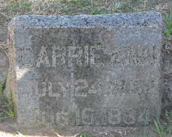 WOODS, CARRIE ANN - Union County, South Dakota | CARRIE ANN WOODS - South Dakota Gravestone Photos