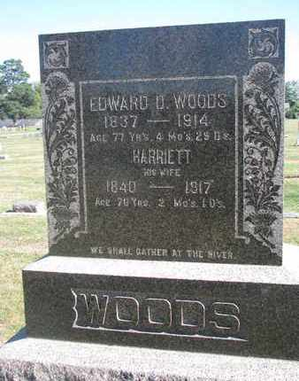 WOODS, HARRIETT - Union County, South Dakota | HARRIETT WOODS - South Dakota Gravestone Photos