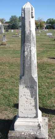 WRIGHT, JACOB - Union County, South Dakota | JACOB WRIGHT - South Dakota Gravestone Photos