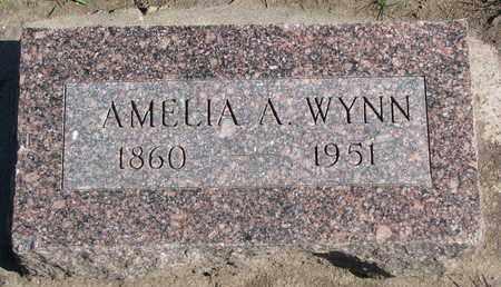 WYNN, AMELIA A. - Union County, South Dakota | AMELIA A. WYNN - South Dakota Gravestone Photos