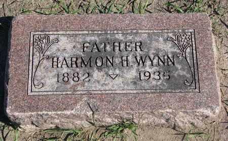 WYNN, HARMON H. - Union County, South Dakota   HARMON H. WYNN - South Dakota Gravestone Photos