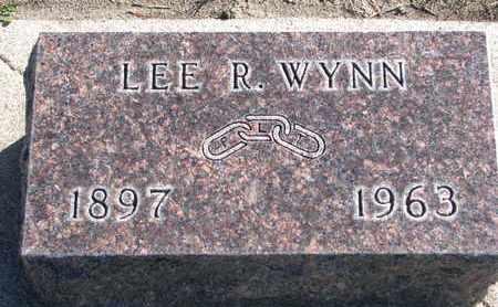 WYNN, LEE R. - Union County, South Dakota | LEE R. WYNN - South Dakota Gravestone Photos
