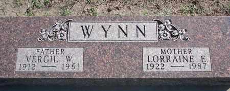 WYNN, VERGIL W. - Union County, South Dakota | VERGIL W. WYNN - South Dakota Gravestone Photos
