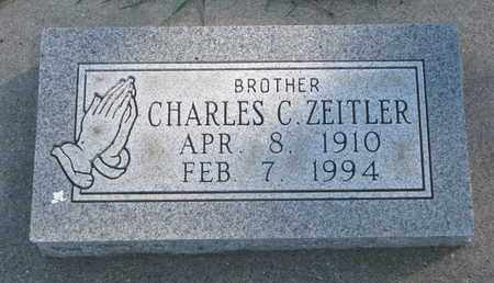 ZEITLER, CHARLES C. - Union County, South Dakota | CHARLES C. ZEITLER - South Dakota Gravestone Photos