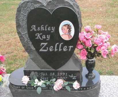 ZELLER, ASHLEY KAY - Union County, South Dakota | ASHLEY KAY ZELLER - South Dakota Gravestone Photos