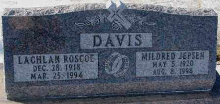 DAVIS, LACHLAN ROSCOE - Yankton County, South Dakota | LACHLAN ROSCOE DAVIS - South Dakota Gravestone Photos