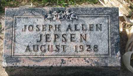 JEPSEN, JOSEPH ALLEN - Yankton County, South Dakota | JOSEPH ALLEN JEPSEN - South Dakota Gravestone Photos