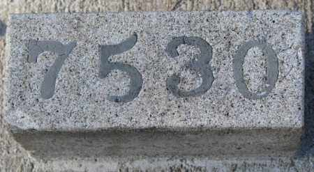 7530, UNKNOWN - Yankton County, South Dakota | UNKNOWN 7530 - South Dakota Gravestone Photos