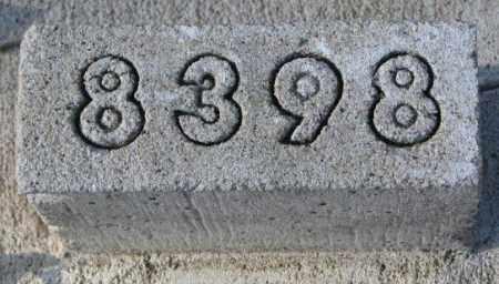 8398, UNKNOWN - Yankton County, South Dakota   UNKNOWN 8398 - South Dakota Gravestone Photos