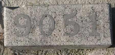 9051, UNKNOWN - Yankton County, South Dakota | UNKNOWN 9051 - South Dakota Gravestone Photos
