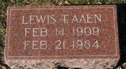 AAEN, LEWIS T. - Yankton County, South Dakota | LEWIS T. AAEN - South Dakota Gravestone Photos