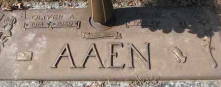 AAEN, MURIEL C. - Yankton County, South Dakota | MURIEL C. AAEN - South Dakota Gravestone Photos