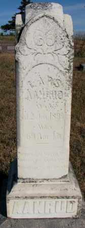 AANRUD, LARS - Yankton County, South Dakota   LARS AANRUD - South Dakota Gravestone Photos