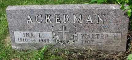 ACKERMAN, INA L. - Yankton County, South Dakota | INA L. ACKERMAN - South Dakota Gravestone Photos