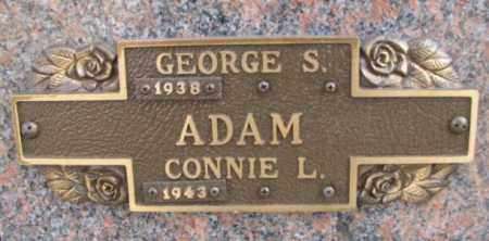 ADAM, CONNIE L. - Yankton County, South Dakota | CONNIE L. ADAM - South Dakota Gravestone Photos