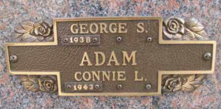 ADAM, CONNIE L. - Yankton County, South Dakota | CONNIE L. ADAM - South Dakota Gravestone Photos