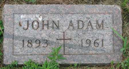 ADAM, JOHN - Yankton County, South Dakota | JOHN ADAM - South Dakota Gravestone Photos