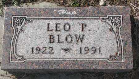 BLOW, LEO P. - Yankton County, South Dakota | LEO P. BLOW - South Dakota Gravestone Photos