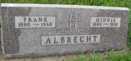 ALBRECHT, MINNIE - Yankton County, South Dakota | MINNIE ALBRECHT - South Dakota Gravestone Photos
