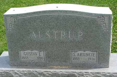 ALSTRUP, S. ARTINCIE - Yankton County, South Dakota | S. ARTINCIE ALSTRUP - South Dakota Gravestone Photos
