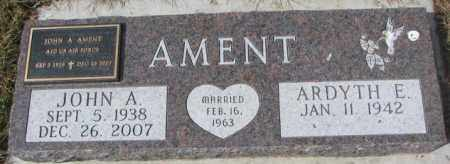 AMENT, JOHN A. - Yankton County, South Dakota | JOHN A. AMENT - South Dakota Gravestone Photos
