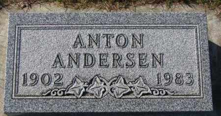 ANDERSEN, ANTON - Yankton County, South Dakota | ANTON ANDERSEN - South Dakota Gravestone Photos