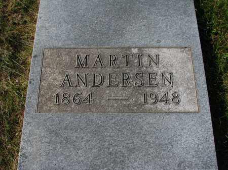 ANDERSEN, MARTIN - Yankton County, South Dakota | MARTIN ANDERSEN - South Dakota Gravestone Photos
