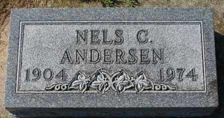 ANDERSEN, NELS C. - Yankton County, South Dakota | NELS C. ANDERSEN - South Dakota Gravestone Photos