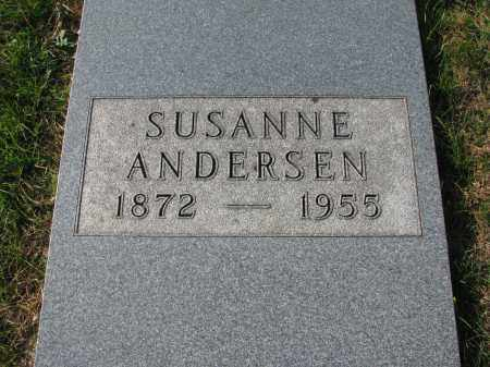 ANDERSEN, SUSANNE - Yankton County, South Dakota | SUSANNE ANDERSEN - South Dakota Gravestone Photos