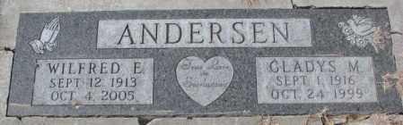 ANDERSEN, GLADYS M. - Yankton County, South Dakota | GLADYS M. ANDERSEN - South Dakota Gravestone Photos