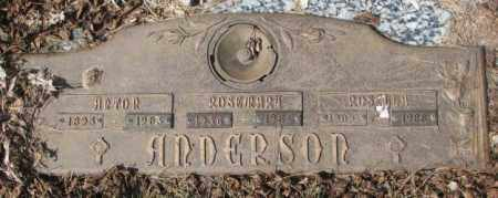 ANDERSON, ROSEMARY - Yankton County, South Dakota | ROSEMARY ANDERSON - South Dakota Gravestone Photos