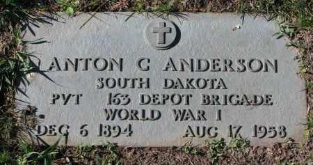 ANDERSON, ANTON C. - Yankton County, South Dakota | ANTON C. ANDERSON - South Dakota Gravestone Photos