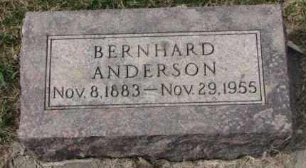 ANDERSON, BERNHARD - Yankton County, South Dakota | BERNHARD ANDERSON - South Dakota Gravestone Photos